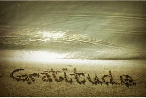 Gratitude at the beach