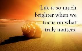 Life is brighter when