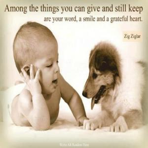 3 things you give n still keep