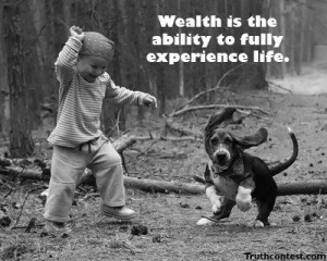 a wealth life is