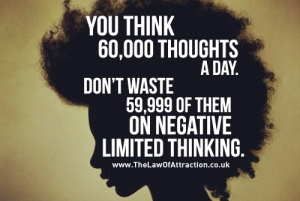 60000 thoughts a day