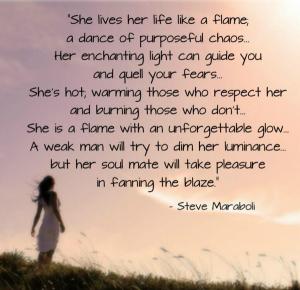 She lives
